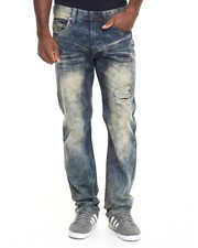 Akademiks - Forest Wash Denim Pants