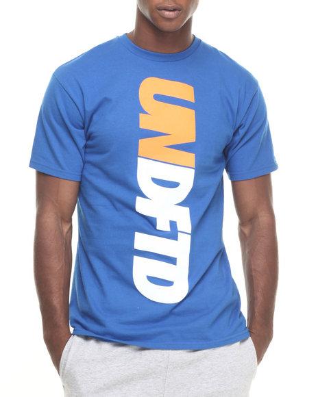 Ur-ID 223882 UNDFTD - Men Blue Undftd Verticle Tee