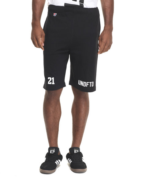 Ur-ID 223900 UNDFTD - Men Black Undftd 21 Shorts
