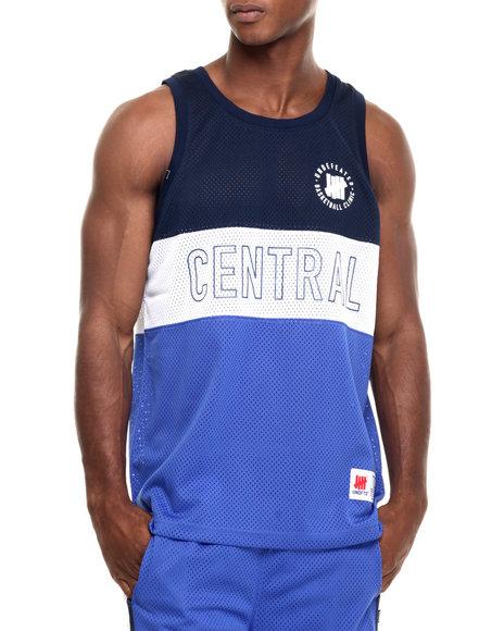 Ur-ID 223907 UNDFTD - Men Blue Central Basketball Jersey