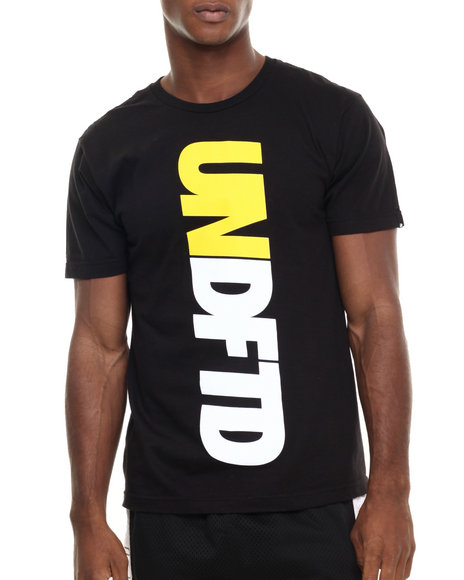 Undftd Black T-Shirts