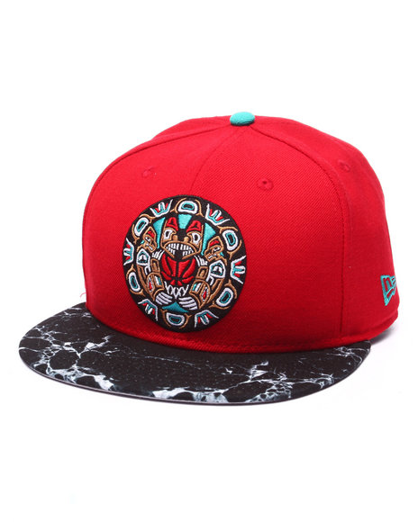 New Era Men Vancouver Grizzlies Marble Edition 950 Snapback Hat Multi - $21.99