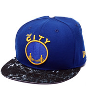 Hats - Golden State Warriors Marble edition 950 Snapback Hat (Drjays.com Exclusive)