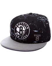 Hats - Brooklyn Nets All over Marble Print 950 Snapback Hat (Drjays.com Exclusive)