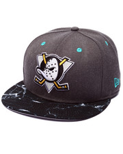 Hats - Anaheim Ducks Marble edition 950 Snapback hat (Drjays.com Exclusive)