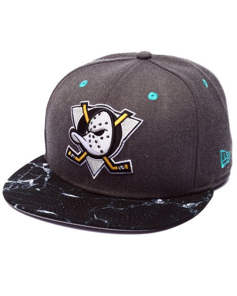 Ur-ID 223977 New Era - Men Grey Anaheim Ducks Marble Edition 950 Snapback Hat (Drjays.Com Exclusive)
