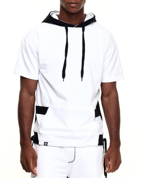Ur-ID 223980 Akademiks - Men White Avenger French Terry Hoody