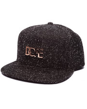 Hats - Knit Metal Logo Snapback