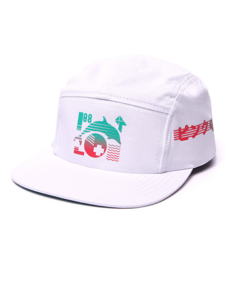 Ur-ID 223995 Pink Dolphin - Men White Speed Gradient 5-Panel Hat