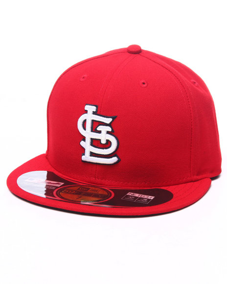 Ur-ID 224013 New Era - Men Red St. Louis Cardinals Authentic On-Field 59Fifty Fitted Cap