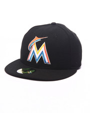 Hats - Miami Marlins Authentic On Field 59FIFTY Fitted Cap