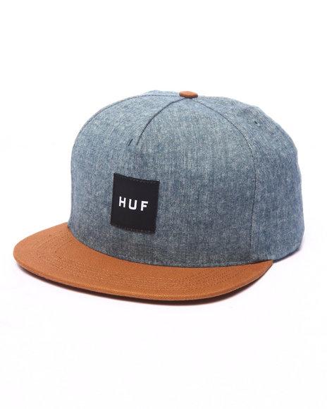 Ur-ID 224020 HUF - Men Blue Upstate Strapback Cap