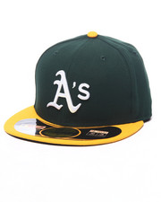 Hats - Oakland Athletics Authentic On Field 59FIFTY Road Fitted Cap