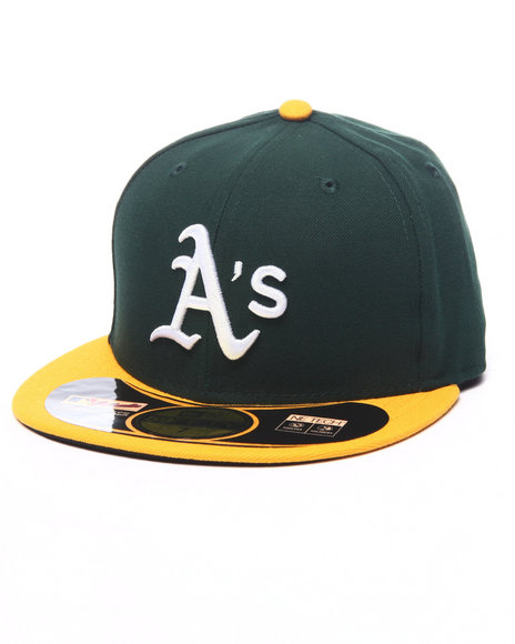 New Era Green Fitted
