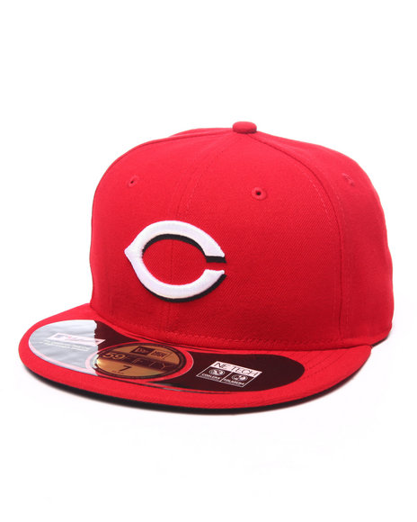 Ur-ID 224023 New Era - Men Red Cincinnati Reds Authentic On-Field 59Fifty Fitted Cap