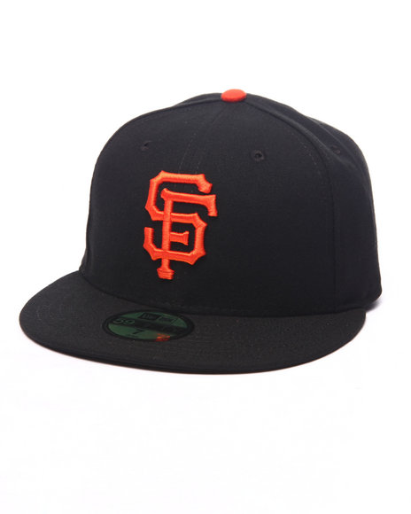 New Era - Men Black,Orange San Francisco Giants Authentic On Field 59Fifty Fitted Cap - $25.99