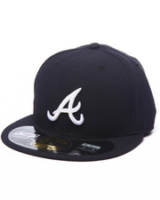 Hats - Atlanta Braves Authentic On-Field 59FIFTY Road Fitted Cap