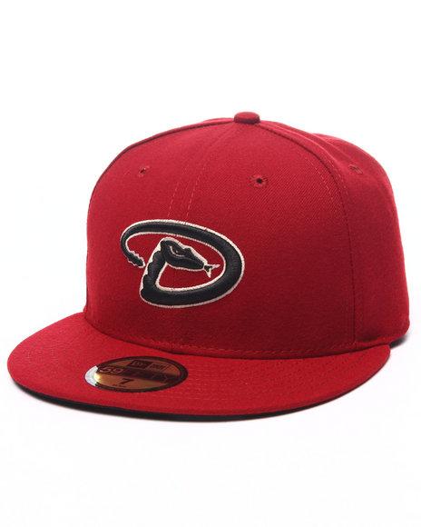 Ur-ID 224030 New Era - Men Red Arizona Diamondbacks Authentic On-Field 59Fifty Fitted Cap