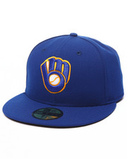 Hats - Milwaukee Brewers Authentic On-Field 59FIFTY Alternate Fitted Cap