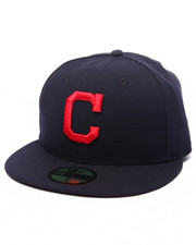 Men - Cleveland Indians Authentic On-Field 59FIFTY Road Fitted Cap