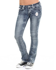 Bottoms - Heavy Stitching Bootcut Jean