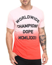 Men - Worldwide Champions Ombre Dope Tee
