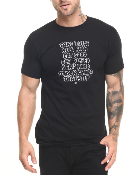 Dope - Men Black Underrated Tee