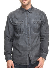 Men - Shadow Wash Poplin Shirt