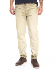 Men - Khaki Shadow Wash Twill Pant