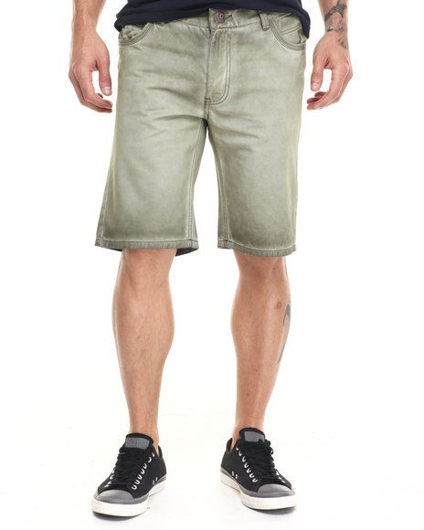 Ur-ID 224118 Lee Cooper - Men Olive Fatigue Twill Short