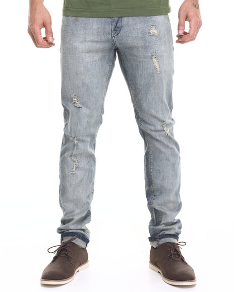 Ur-ID 224152 Lee Cooper - Men Vintage Wash Zane Slim Vintage Jean