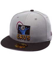 Men - Cleveland Cavaliers Bordeaux 4 edition fitted hat
