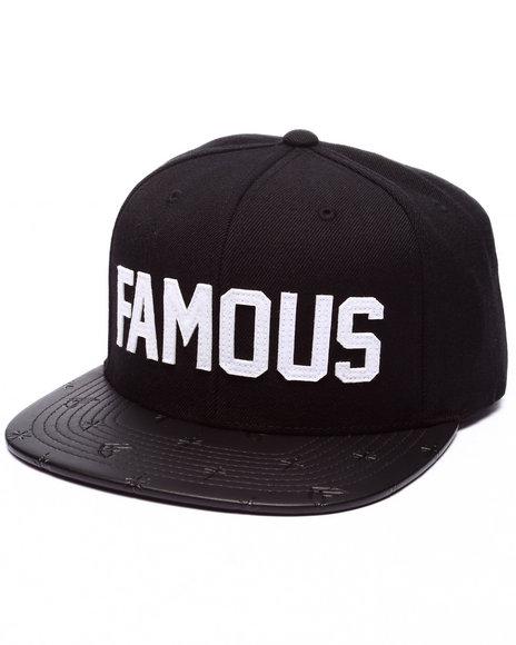Famous Stars & Straps - Men Black Pachuco Snapback