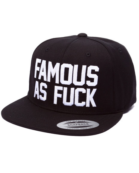 Ur-ID 224103 Famous Stars & Straps - Men Black So Famous Snapback