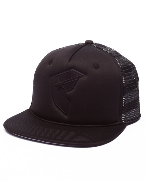 Ur-ID 224107 Famous Stars & Straps - Men Black Flag Midnight Trucker Hat
