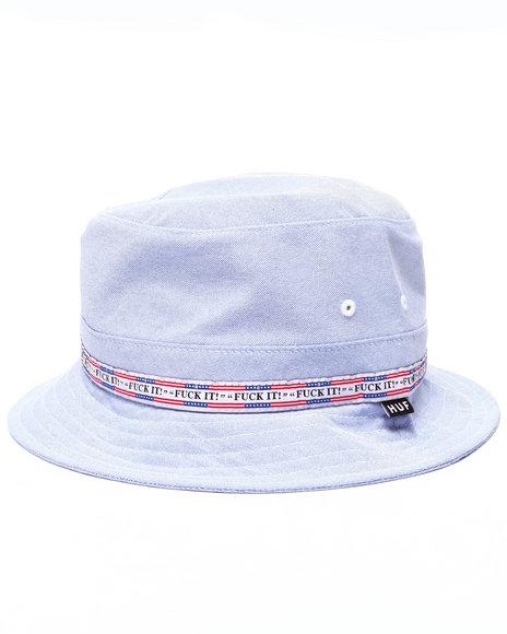 Ur-ID 224132 HUF - Men Blue Fuck It Oxford Bucket Hat