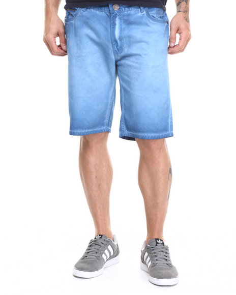 Ur-ID 224149 Lee Cooper - Men Blue Shadow Wash Short