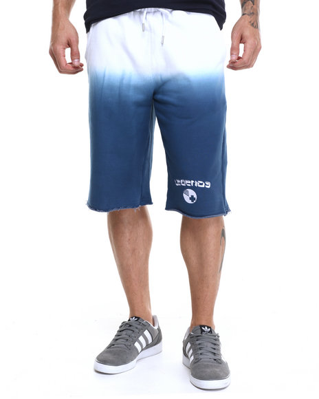 Ur-ID 224154 Pink Dolphin - Men Blue,White Ombre Legends B - Ball Shorts