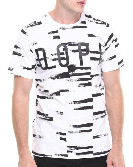 Dope - Men White Brushed Tee