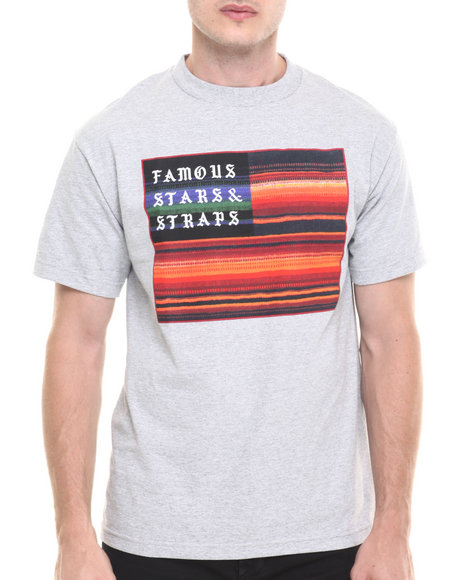 Famous Stars & Straps - Men Grey Calimex Tee