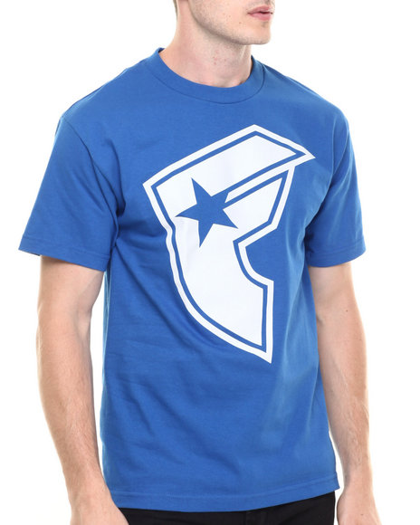 Famous Stars & Straps - Men Blue,Blue New Boh Tee