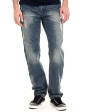 Men - Sanded Denim Jeans