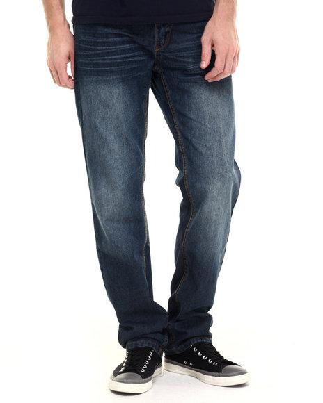 Ur-ID 224211 Enyce - Men Medium Wash Haze Denim Jeans