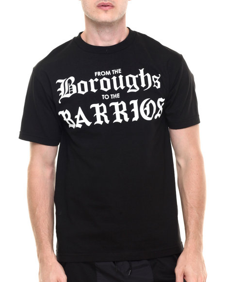 Ur-ID 224212 Famous Stars & Straps - Men Black Rocksmith Boroughs Tee