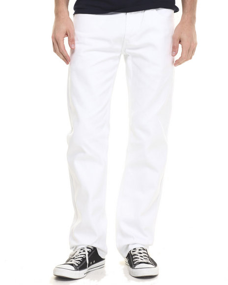 Ur-ID 224180 Akademiks - Men White Culture Twill Pants