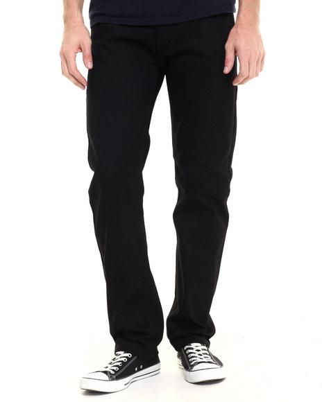 Akademiks Men Culture Twill Pants Black 34x32