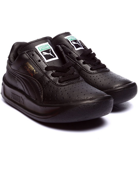 Puma - Boys Black Gv Special Kids Sneakers (11-7)