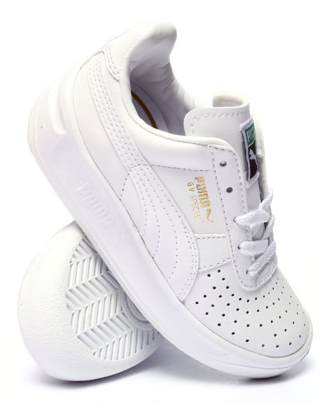 Puma - Boys White Gv Special Kids Sneakers (11-7)