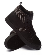 Fashion Lab - Tylar Bling High Top Sneaker