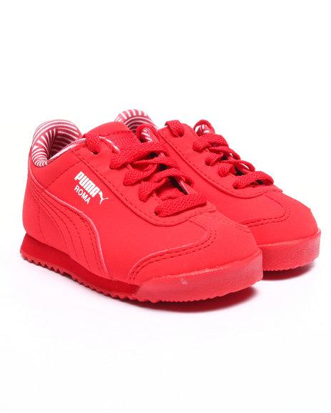 Puma - Boys Red Roma Nm Kids Sneakers (5-10) - $35.00